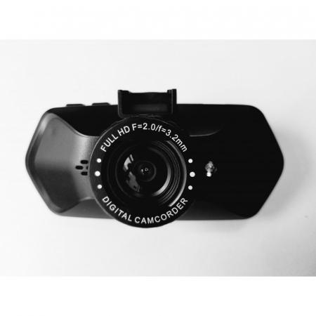 "Camera Video Auto Dubla, Obiectiv 120° Superangular FullHD 1080p Techstar® RLDV 204, Ecran 2""1"