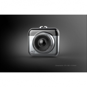 CAMERA VIDEO AUTO DVR TECHSTAR® CT203 FULLHD 1080P, DETECTIA MISCARII, G-SENSOR, USB3