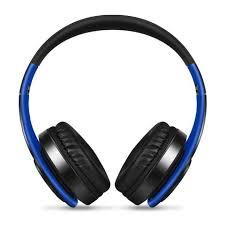 CASTI BLUETOOTH WIRELESS W802 ALBASTRU OVER EAR PLIABILE SPORT CU MICROFON INCORPORAT0