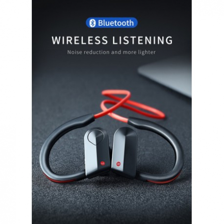 CASTI WIRELESS TECHSTAR® K98, ROSU, BLUETOOTH 4.1, HIFI, CIP CSR1