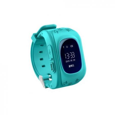 Ceas Smartwatch Pentru Copii Albastru Q50+ Slot Cartela SIM, GPS Tracker, Buton Urgenta SOS, Monitorizare Live1