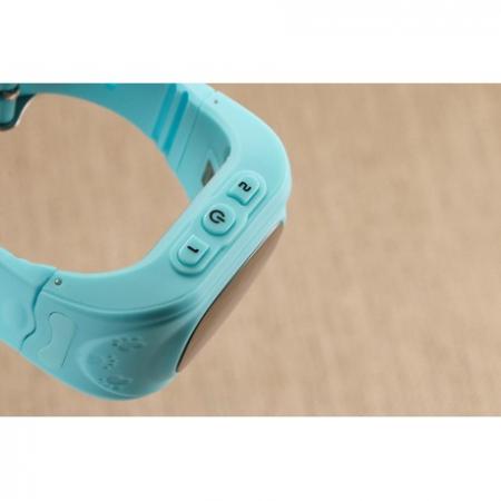 Ceas Smartwatch Pentru Copii Albastru Q50+ Slot Cartela SIM, GPS Tracker, Buton Urgenta SOS, Monitorizare Live4
