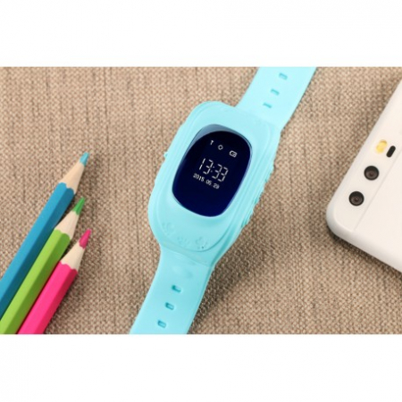 Ceas Smartwatch Pentru Copii Albastru Q50+ Slot Cartela SIM, GPS Tracker, Buton Urgenta SOS, Monitorizare Live5