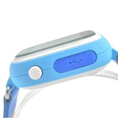 Ceas Smartwatch Pentru Copii Albastru Q90 Slot Cartela SIM, GPS Tracker, Buton Urgenta SOS, Monitorizare Live2