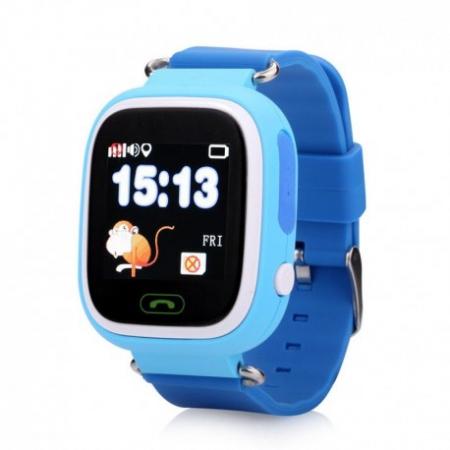 Ceas Smartwatch Pentru Copii Albastru Q90 Slot Cartela SIM, GPS Tracker, Buton Urgenta SOS, Monitorizare Live6