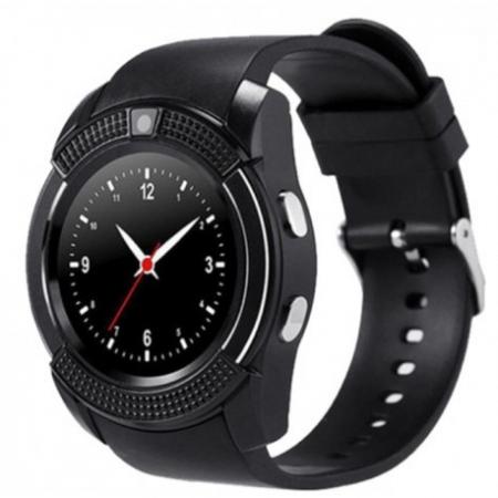 Ceas Smartwatch V8 Negru HandsFree Bluetooth 3.0 Micro SIM Android Camera 1.3MP6