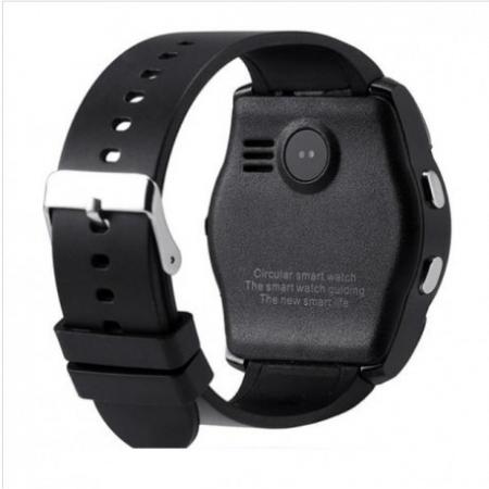 Ceas Smartwatch V8 Negru HandsFree Bluetooth 3.0 Micro SIM Android Camera 1.3MP4