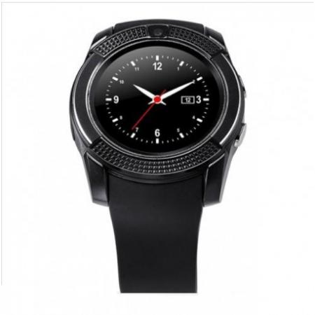 Ceas Smartwatch V8 Negru HandsFree Bluetooth 3.0 Micro SIM Android Camera 1.3MP5