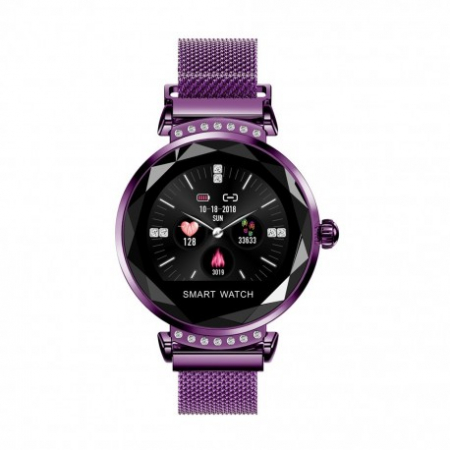Smartwatch Fitness Sport Mov Elegant Pentru Dama H2 Cu Monitorizare Somn Si Cardiaca [1]