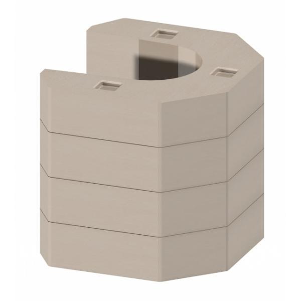 Kit de acumulare caldura pentru soba ESQUINA 1