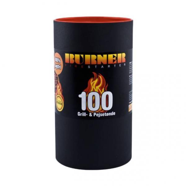 Pastile pentru aprindere foc semineu 100buc 0