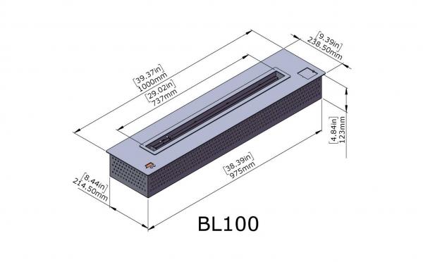 Semineu bioetanol BL100 4