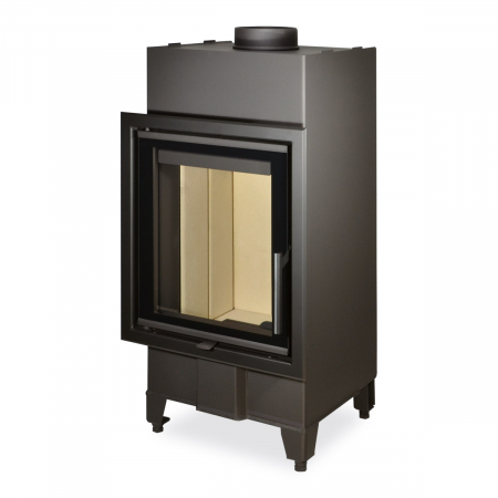 Focar lemne geam cu geam drept H2Q01 [0]