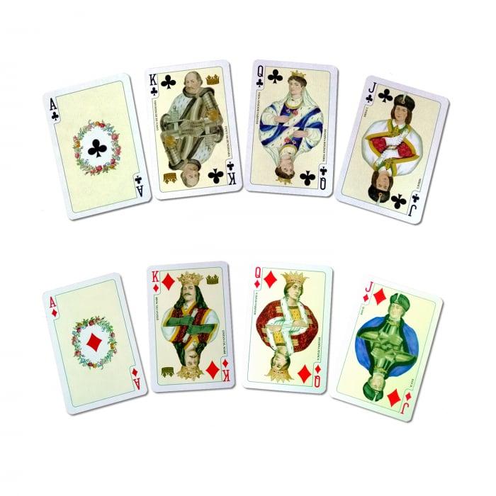 Carti de joc Romania, produse de Piatnik, 2 pachete de carti in cutie de lux 2