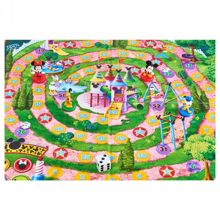 """Joc de societate """"Disney Mickey Mouse & Friends - Home Sprint"""", pentru 2-4 jucatori cu varsta de peste 4 ani 1"""