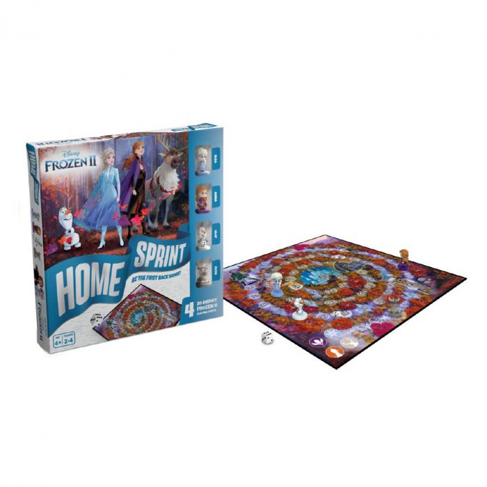 """Joc de societate """"Disney Frozen II - Home Sprint"""", pentru 2-4 jucatori cu varsta de peste 4 ani [2]"""