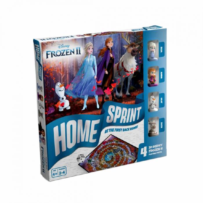 """Joc de societate """"Disney Frozen II - Home Sprint"""", pentru 2-4 jucatori cu varsta de peste 4 ani [0]"""