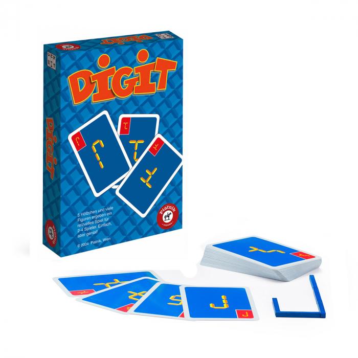 """Joc de carti si imaginatie Piatnik, """"Digit"""", pentru jucatori de la 8 ani 0"""