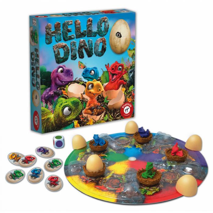 Joc de societate Piatnik, Hello Dino, pentru 2-4 jucători de peste 5 ani [0]