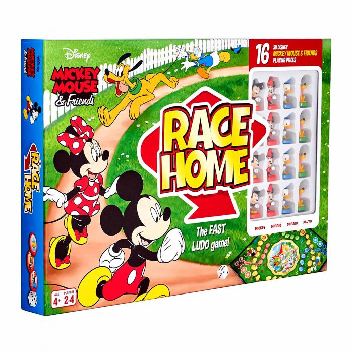 """Joc de societate """"Disney Mickey Mouse & Friends - Race Home"""", pentru 2-4 jucatori cu varsta de peste 4 ani [0]"""