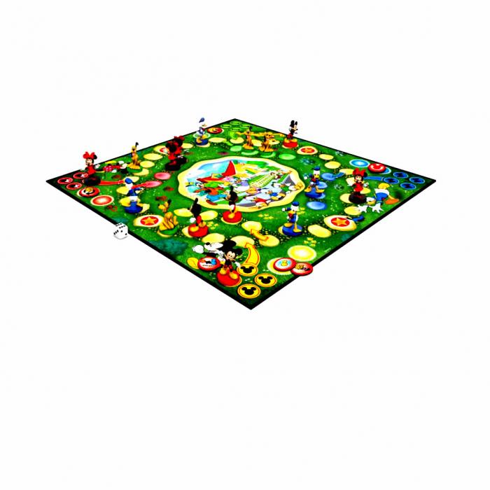 """Joc de societate """"Disney Mickey Mouse & Friends - Race Home"""", pentru 2-4 jucatori cu varsta de peste 4 ani [1]"""