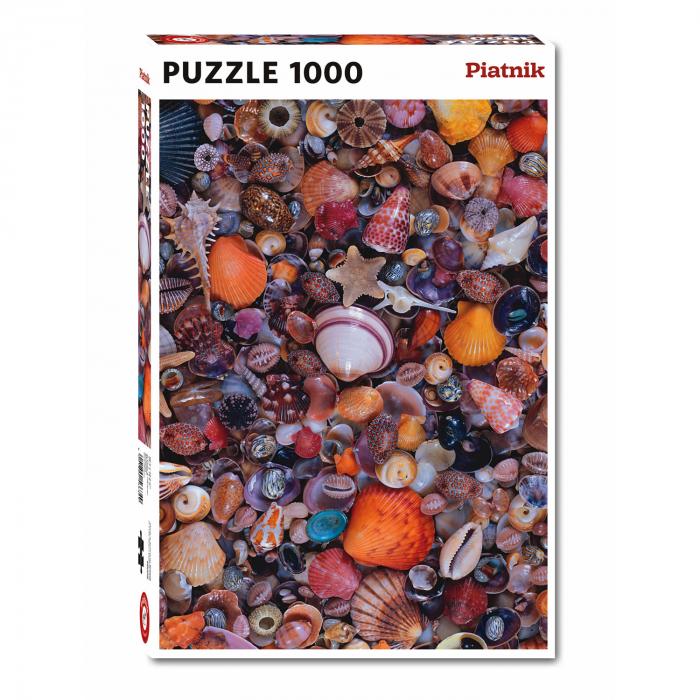 "Puzzle Piatnik ""Cochilii, scoici"", 1000 piese, dimensiune 68 x 48 cm, produs in Austria [0]"