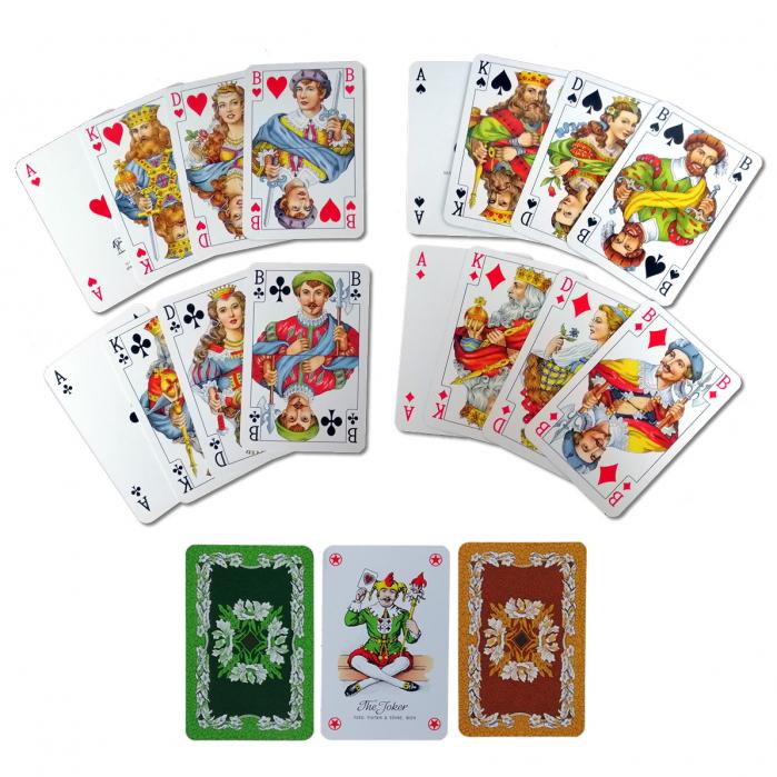 "Set carti de joc Piatnik ""Bridge-Poker-Whist"" 1"
