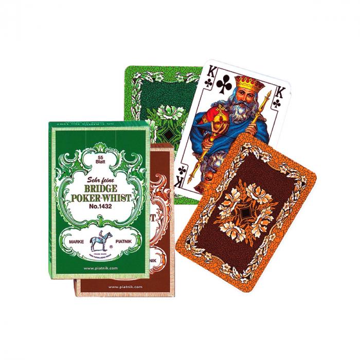 "Set carti de joc Piatnik ""Bridge-Poker-Whist"" 0"