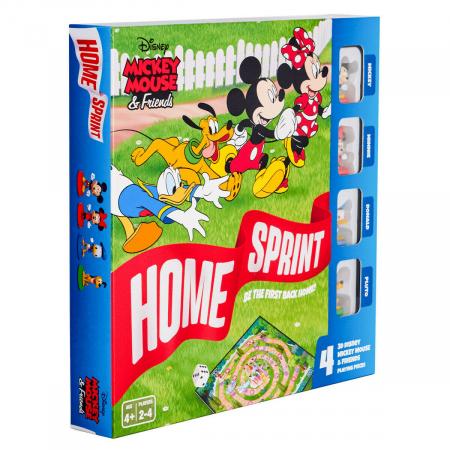 """Joc de societate """"Disney Mickey Mouse & Friends - Home Sprint"""", pentru 2-4 jucatori cu varsta de peste 4 ani0"""