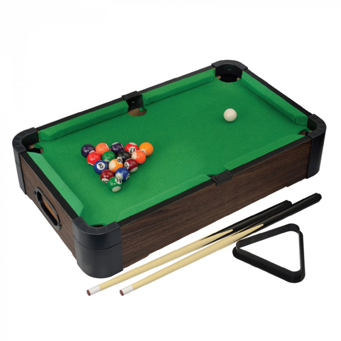 Joc de birou 5 in 1 din lemn V2 - biliard ping-pong sah table dame 0