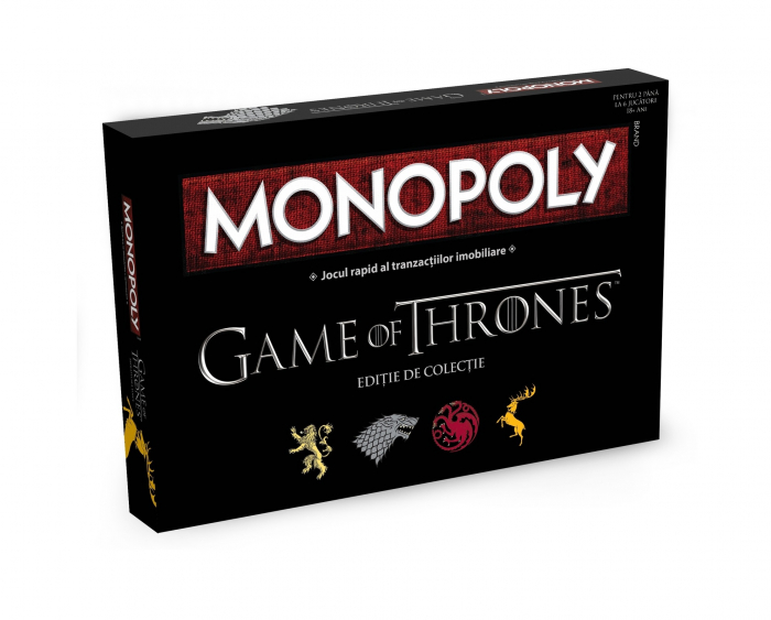 Joc de societate Monopoly - Game of Thrones 0