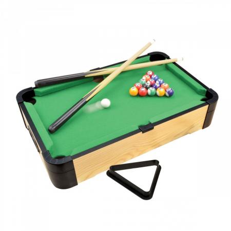 Joc de birou 3 in 1 din lemn V1 biliard ping-pong hockey [0]