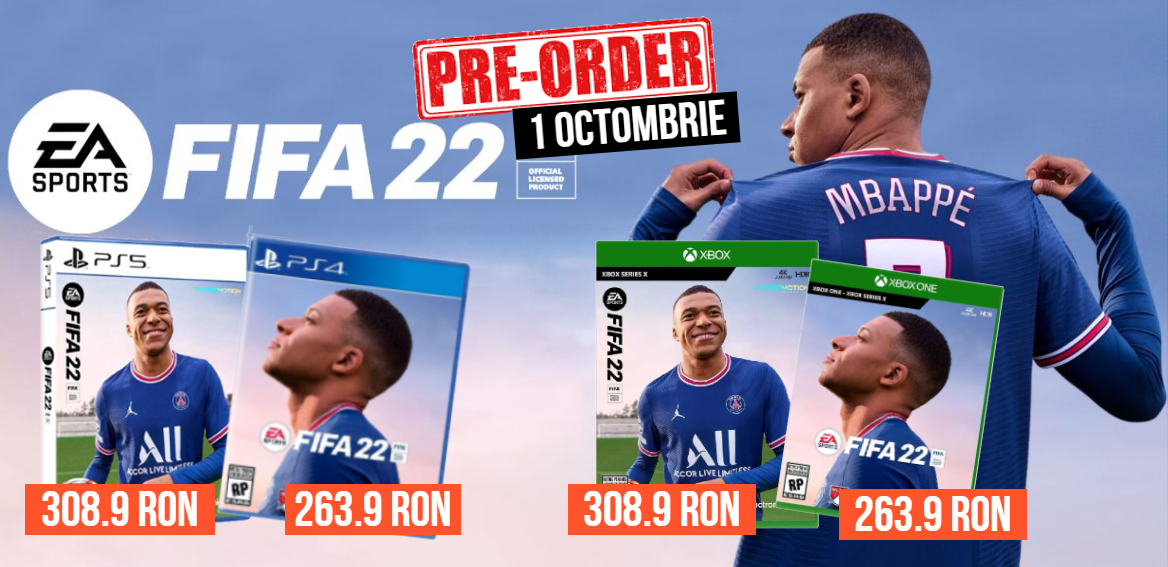 Fifa 22 - 1 octombrie 2021