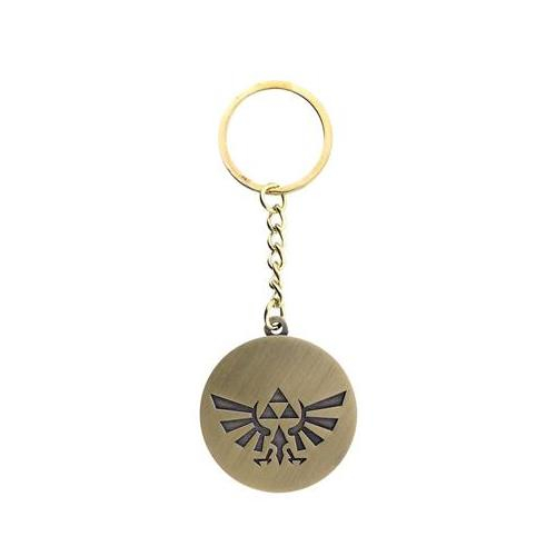 Breloc The Legend Of Zelda Triforce Logo Metal 0
