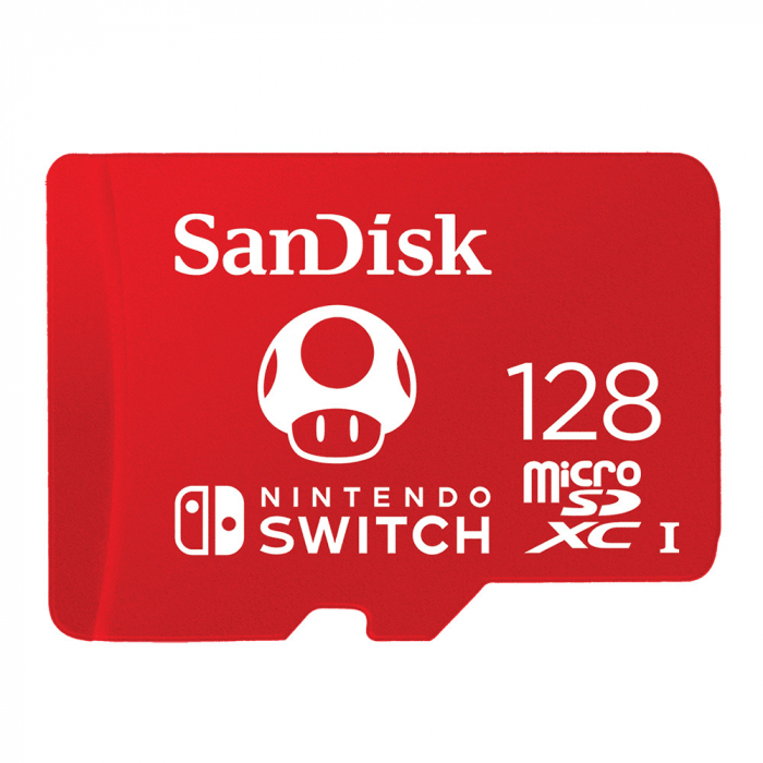 Card de memorie SanDisk microSDXC, 128GB, Nintendo Switch, UHS-I, Class 10 0