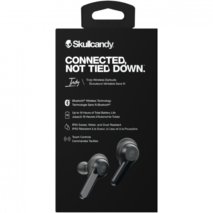Casti audio In-Ear Skullcandy Indy, True Wireless, Microfon, Black 2