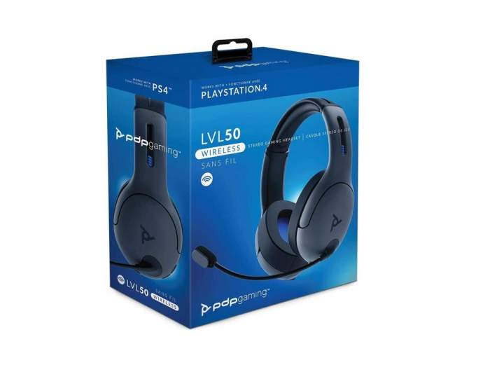 Casti Gaming PDP LVL50 Wireless Stereo pentru PS4 0
