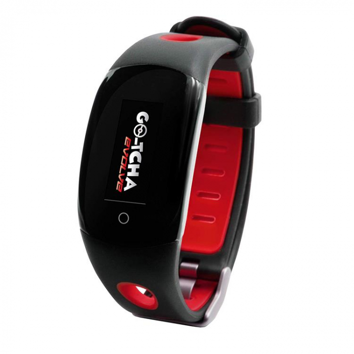 Ceas Pokemon Go Go-Tcha Evolve Led Auto Catch And Auto Spin Black Red 0