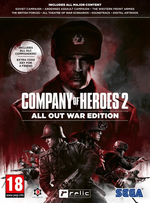 Joc Company of Heroes 2 All Out War Edition PC 0