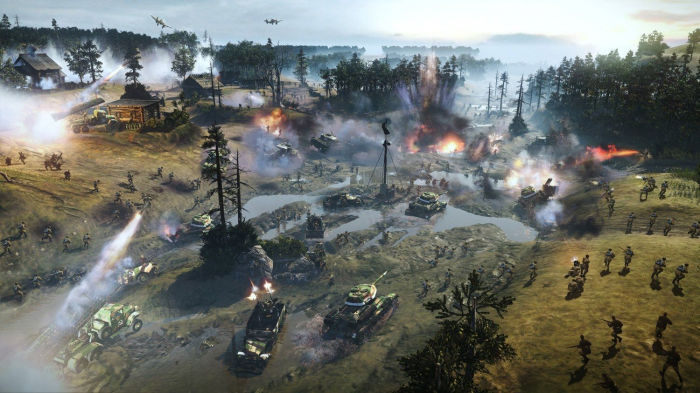 Joc Company of Heroes 2 All Out War Edition PC 2