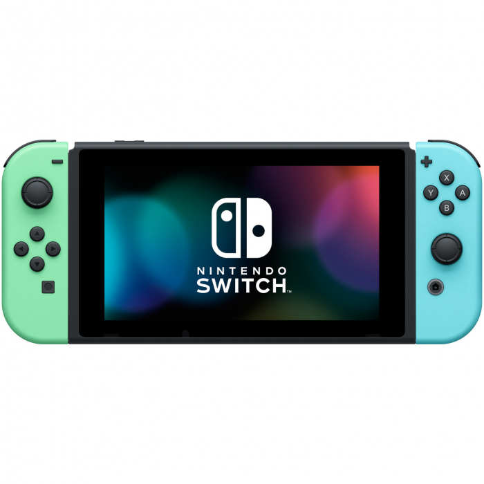 Consola NINTENDO SWITCH (WITH PASTEL GREEN & BLUE JOY-CONS) + Animal Crossing: New Horizons 3
