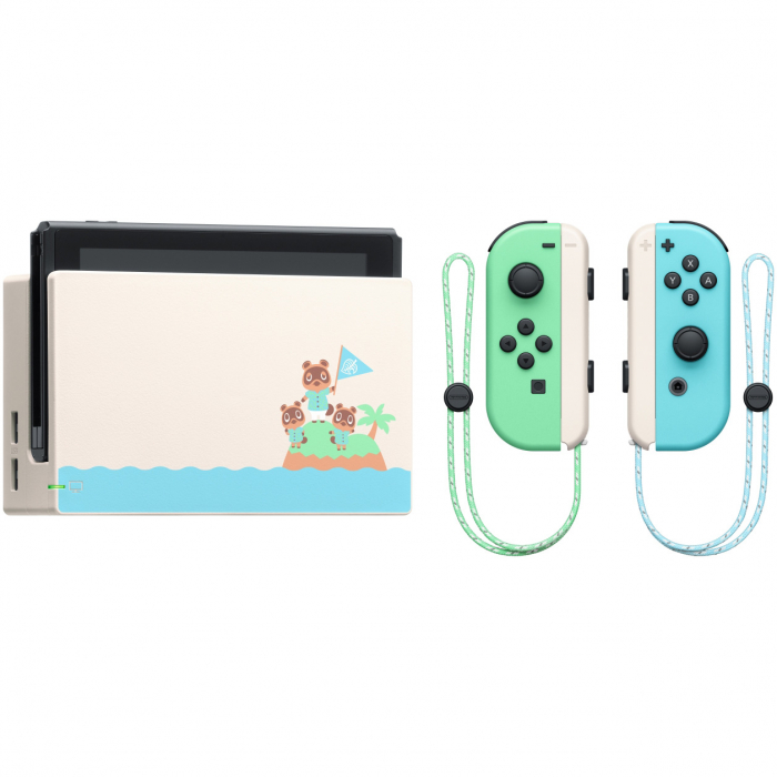 Consola NINTENDO SWITCH (WITH PASTEL GREEN & BLUE JOY-CONS) + Animal Crossing: New Horizons 4