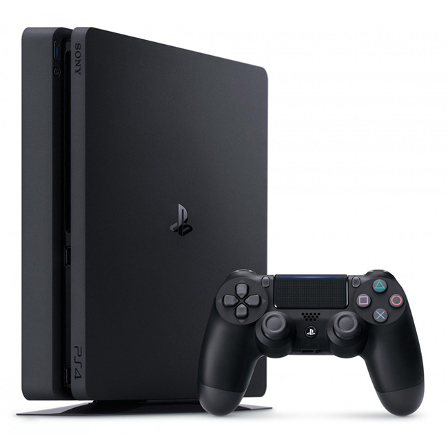 Consola PlayStation 4 Slim 500 GB Black + FIFA 20 + Gamepad DualShock 4 Wireless V2 1