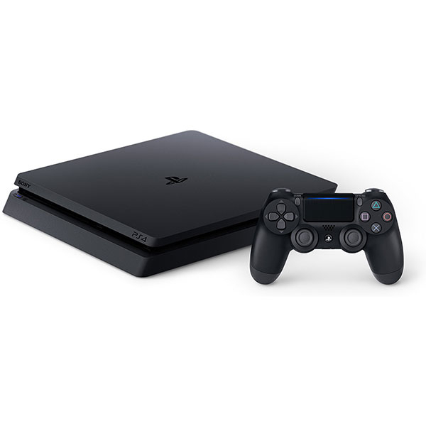 Consola SONY Playstation 4 Slim, 1TB, Jet Black + God of War HITS + Horizon Zero Dawn Complete Edition HITS + The Last of Us Remastered HITS 5