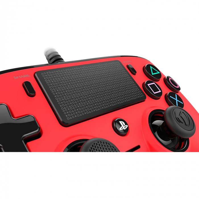 Controller Nacon Wired Compact Color Edition Red Ps4 1
