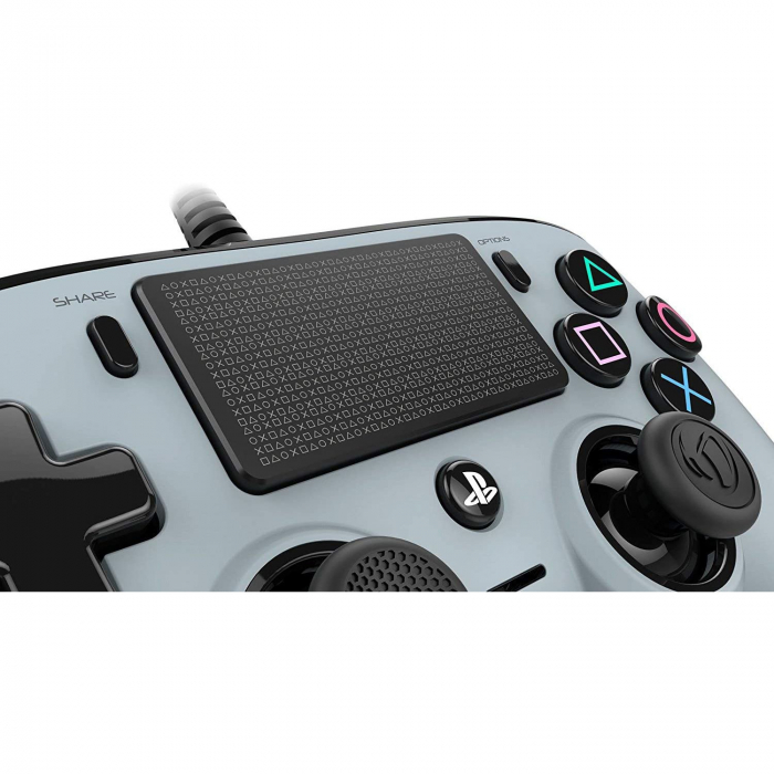 Controller Nacon Wired Compact Color Edition Silver Ps4 1