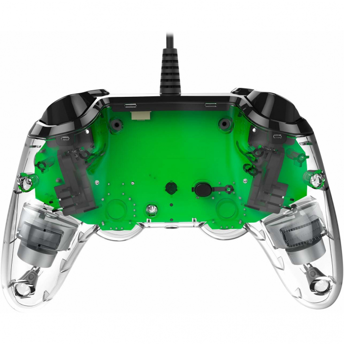 Controller Nacon Wired Illuminated Compact Light Edition Green Ps4 5