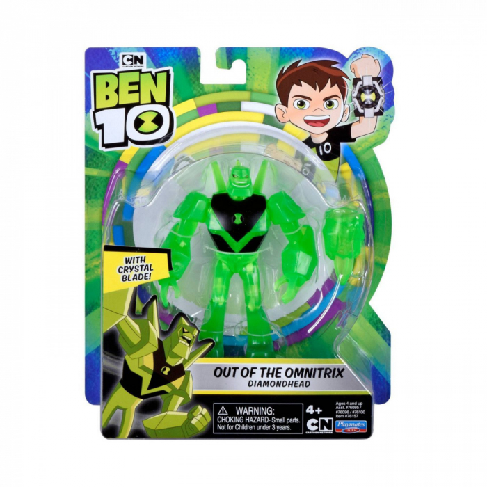Figurina Ben 10 - Cap de Diamant Out of the Omnitrix 1
