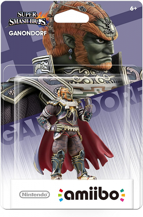 Figurina Nintendo Amiibo Ganondorf Super Smash Bros Collection 0