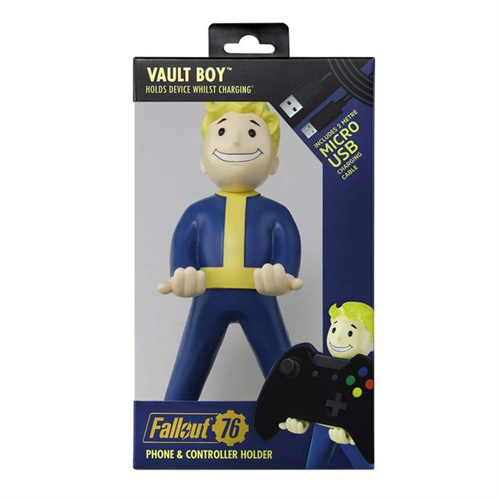Figurina Suport Fallout Vault Boy 76 Cable Guy 2